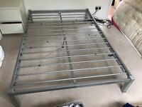 Double bed frame 4ft 6inches