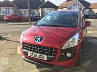 2011 peugeot 3008 crossover 1.6 hdi automatic ,only 37,000 milege with FSH.minimum damage .cat c.