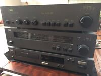 NAD 3020 Stereo Amp , NAD 4020A AM/FM Tuner, NAD 5330 CD Player, Goodmans Maxim 2 speakers
