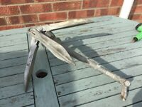 Folding grapnel style four flukes 5.2kg boat anchor