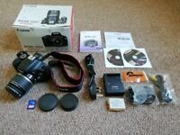 Canon EOS 550D in great condition