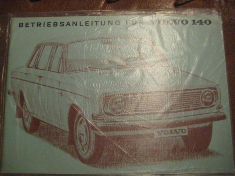 volvo 144 betriebsanleitung modelljahr 1969 in baden w rttemberg heidelberg ebay kleinanzeigen. Black Bedroom Furniture Sets. Home Design Ideas
