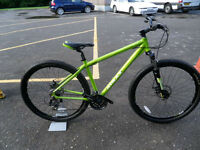 Mtrax Graben 29er MTB Brand New Ex Display Disk Brakes Lockout Forks Fully Built