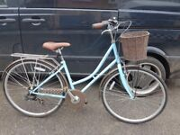 ladies 6 speed elswick town bike