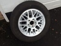 New Unused Alloy wheel to fit Jeep Grand Cherokee complete with FREE TYRE 235x65xR17