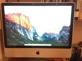 """iMac 24"""" 2.8ghz Intel Core 2 Duo"""