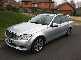 2009 MERCEDES C180 1.6 KOMPRESSOR SE BLUE EFFICIENCY, ESTATE, FULL SERVICE HISTORY, 2 KEYS HPI CLEAR