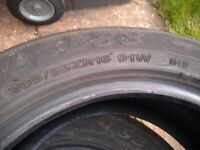 Landsail part worn tyres