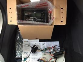 JVC KW-R520 with Corsa D Steering Wheel Remote