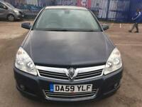 Vauxhall Astra 1.6 VVT 2009 115 DESIGN Manual 5 DOOR HATCHBACK
