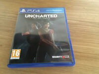 PS4 Uncharted The Lost Legacy in mint condition like new