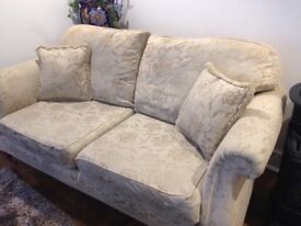 Two sofas for sale a small 2 seater & 3 seater available for collection now