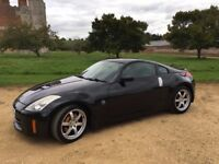 Nissan 350Z - 2006 - 87,639 miles - Black - Manual - £8,250 - Great car, drives and sounds amazing!