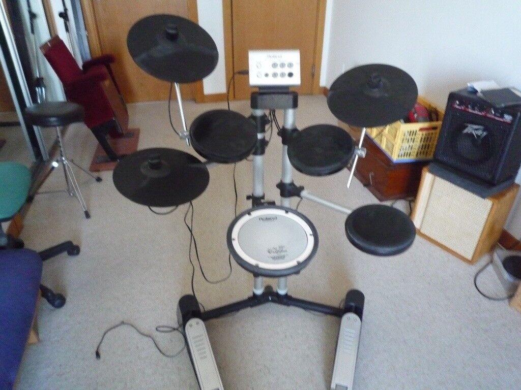Roland V Drum SD 1 starter kit