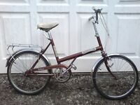 CLASSIC 1970's BSA SHOPPER WITH SET OF NEW SCHWALBE PUNCTURE PROOF TYRES THAT COST £30