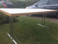 ikea folding office desk, great condition