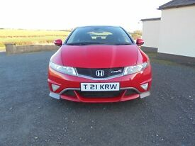 2008 HONDA CIVIC TYPE-S 1.8 PETROL - FULL SERVICE HISTORY EXCELLENT CONDITION