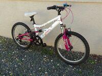 Girls Apollo Charm 20 inch wheel mountain bike