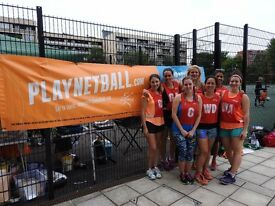 Netball - Join as an individual, group or full team