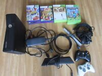 Xbox 360s Kinnect 250GB plus games bundle