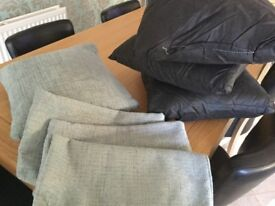 Cushion Covers with or without the pads - all in perfect condition