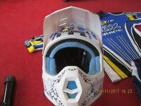 motocross helmet childs large