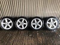 "Genuine 17"" Audi A3 Sport Alloy Wheels #1 - 5x112 - Will fit VW, Skoda, Seat, A4, A5"