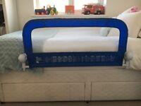 Mothercare Blue bed gaurd