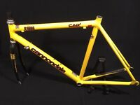 """Cannondale R1000 22"""" aluminium frame and Carbon forks"""