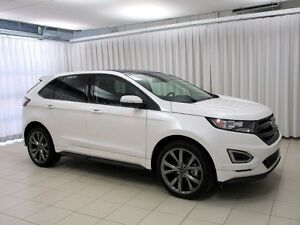 2017 Ford Edge SPORT AWD 315 HP!! with SUNROOF, HEATED FRONT/REA