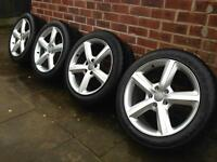 "20"" Audi Q7 wheels and tyres"