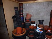 Plastic Pots, Seed Trays, Growing containers, Greenhouse, Potting shed items for sale