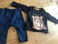 6-12 months Jojo teddy bear bundle