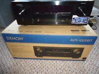 DENON AVR-X520BT AV reciever Brand new boxed