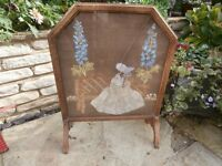 Wooden Fire Screen