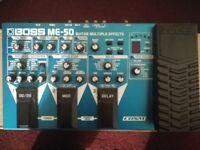 Boss ME50 Guitar Multi Effects
