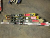 Used Skis and Ski Poles - Various Sizes Available