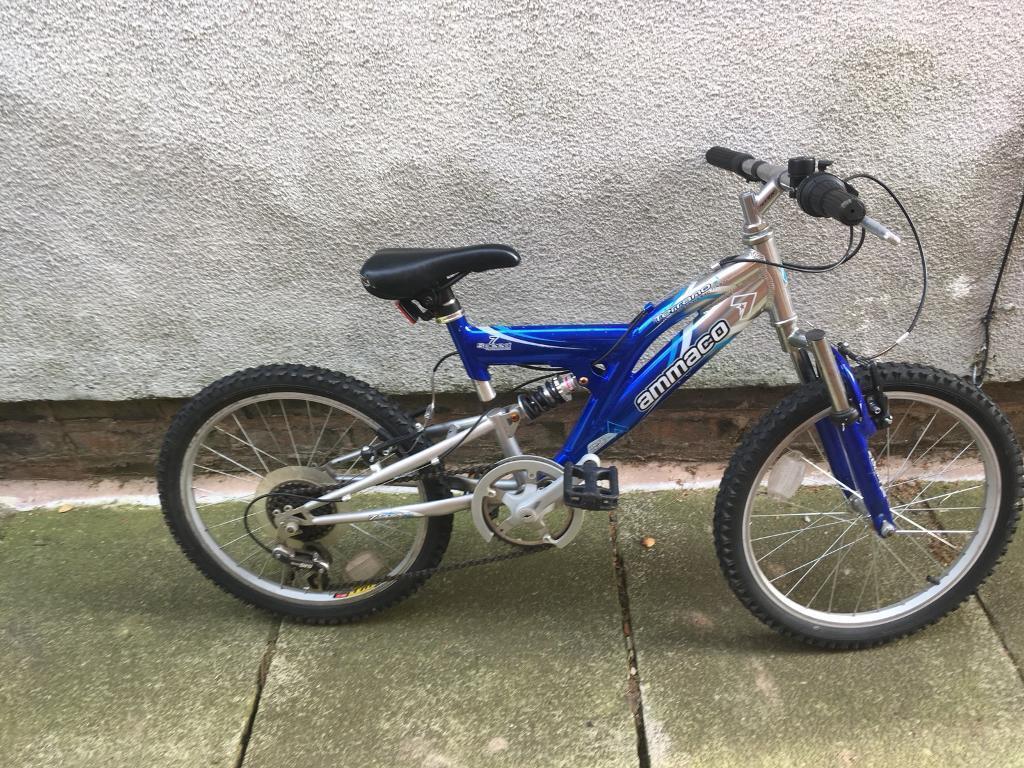 Child's aluminium bike