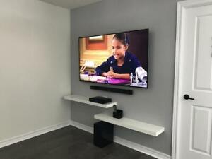 The Professionals - 1 Hour TV Wall-mount Mount Installation - Any Wall - Home or Office