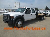 2008 Ford F-550 CREWCAB 4X4, 11 Ft DECK!!!