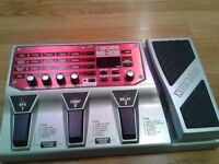 BOSS ME-20B Bass Multi-Effects unit - with manual