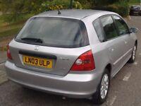 Honda Civic Auto, Alloy Wheels, A/C, CD, Central Lock, Remote, Silver, Clean. Quick Sale
