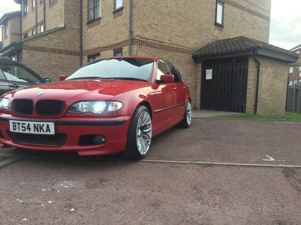 bmw e46 320d in imola red in rainham london gumtree. Black Bedroom Furniture Sets. Home Design Ideas