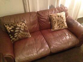 Two, 2/3 seater sofas