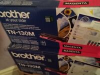Genuine boxed Brother printer cartridges (toner) / drum units / waste toner
