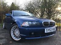 BMW 320i Low Mileage Full Leather Drives Great Mot With No Advisorys !!!