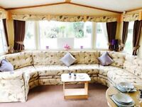 site static caravan for sale in wales on family friendly and dog friendly site. site fees from £2995