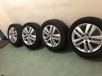 16 inch Vauxhall Astra alloy wheels
