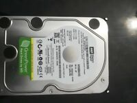 2 x 500Gb SATA drives - WD Green & Hitachi Deskstar