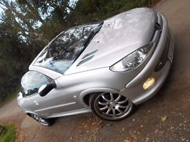 2005 PEUGEOT 206 ALLURE 1.6 PETROL + FULL LEATHER & BODY KIT ~ I ALSO HAVE A 2.0 55 REG AVAILABLE